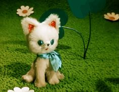 "КАК СТАТЬ БОЛЬШИМ ""Adorable vintage Russian Stop motion animated film featuring a sweet little kitty."" 1980's"