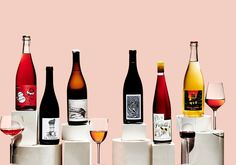 11 Natural Wines That Taste as Good as They Look Wine Design, Bottle Design, Cranberry Lemonade, Soda Floats, Chenin Blanc, Homemade Wine, Wine Online, Good Things, Things To Sell