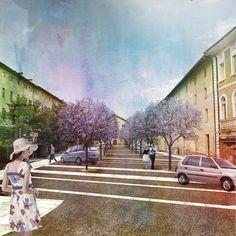Riqualificazione urbana delle piazze Martiri della Resistenza, De Gasperi, Romani. Borgo Valsugana, Borgo, 2012 - Gianluca Nicolini