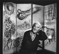Marc Chagall photographié par Yousuf Karsh