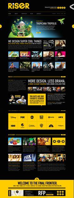 Riser - A Creative & Design Agency