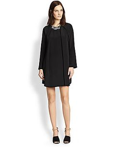 3.1 Phillip Lim Silk A-Line Flare Dress Theres so much to do with this dresssss