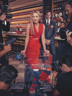 Italian alcohol brand Campari has unveiled its 2016 calendar starring actress Kate Hudson. Called, 'The BitterSweet Campaign', the blonde stunner finds herself in the middle of two opposing political candidates—Bitter and Sweet. Dressed in red, much like the the color of the Campari's bittersweet aperitif, she wears designer styles from top designers such as Halston, …