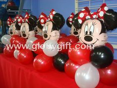 Centros de mesa de Mimi para piñata www.globygift.com