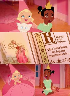 The Princess and The Frog. One of my fave Disney films!