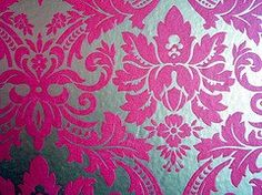 bedroom accent wall...? Accent Wall Bedroom, Pretty Bedroom, Wall Patterns, Pretty Face, Love Art, Girls Bedroom, Damask, Sweet Home, Wallpaper