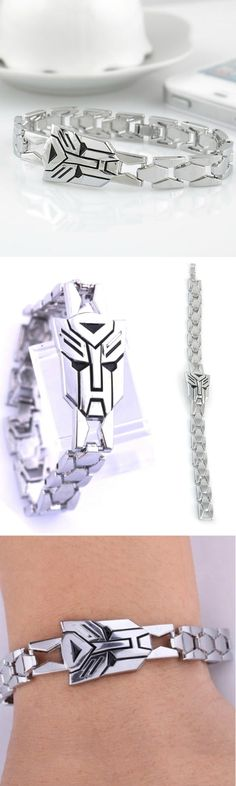 Steel Autobot Symbol Bracelet! Click The Image To Buy It Now or Tag Someone You Want To Buy This For.  #Transformers