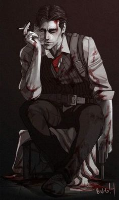 The Evil Within Sebastian Castellanos Game Character, Character Concept, Character Design, Character Prompts, The Evil Within, Cry Of Fear, Sebastian Castellanos, Arte Obscura, World Of Darkness