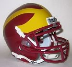 Clovis West Golden Eagles 2009 Schutt Mini Helmet - Fresno, CA