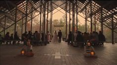 Ellis + Minda | A Fall Wedding in the Woods at Pinecote Pavilion on Vimeo  Our wedding video! Brought to you by the very talented team of Post & Beam Co. Check them out at postandbeamco.com