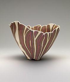 Bowl Artist:Curtis Benzle (American, born Medium:Porcelain Dimensions:H. 7 in. x cm) Classification:Ceramics-Pottery Credit Line:Bequest of Hope Yampol, 2008 Sgraffito, Pottery Bowls, Ceramic Pottery, Pottery Art, Kintsugi, Ceramic Clay, Ceramic Bowls, Carillons Diy, Keramik Design