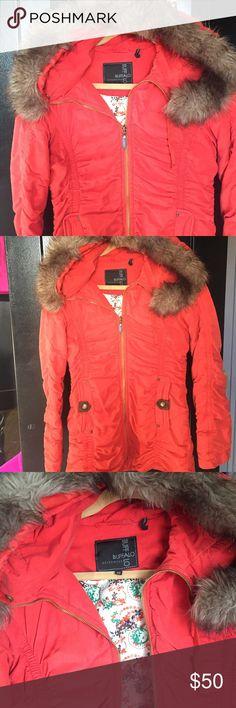 buffalo outerwear Burnt orange winter coat buffalo outerwear Burnt orange fitted winter coat hardly worn. Buffalo David Bitton Jackets & Coats
