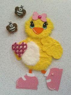 Bird with Bunny Ears Spring Summer Spring Easter Tear Bear Kira AP4P | eBay