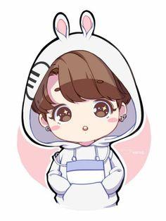 chibi cute boy Chibi Clipart bts 12 - 736 X 981 Bts Chibi, Anime Chibi, Bts Anime, Anime Kawaii, Manga Anime, Anime Art, Jungkook Fanart, Bts Jungkook, Fanart Bts
