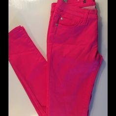"⚡️Flash Sale New Celebrity Pink Jeans Skinny Sz 5 New Celebrity Pink Jeans, size 5. Low Rise Skinny, hot pink. Inseam 32,"" waist 30.5."" Celebrity Pink Jeans Skinny"