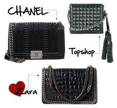 """""""Untitled #8"""" by mybrfblog on Polyvore featuring Zara, Topshop and Chanel"""