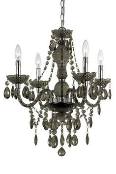 Naples Mini Chandelier - Black
