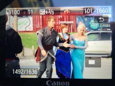 Scott, Elizabeth and Georgina on the set - 9 october 2014 - 4*9