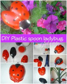 Easy Craft Idea : Fan from disposable Plastic Spoon Crafts, Plastic Bottle Crafts, Plastic Spoons, Plastic Bags, Fun Crafts, Crafts For Kids, Soda Can Art, Craft Projects, Projects To Try