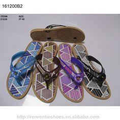 c1bfdf5cabd286 Wuchuan new design PCU flip flops for Women Summer beach indoor slippers  shoes E1039 Womens Flip