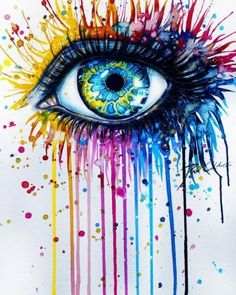 Abstract eye tattoo | Tattoo Ideas Central