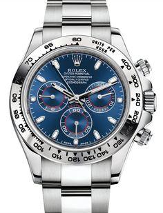 勞力士 (Rolex) [2016 NEW MODEL] Daytona 116509 White Gold Blue Dial Watch (Retail:HK$269,300) ~ SPECIAL OFFER: HK$228,000. We Also Have Hong Kong Rolex Boutique 888 Stock [香港行貨] For Sale at HK$243,800.