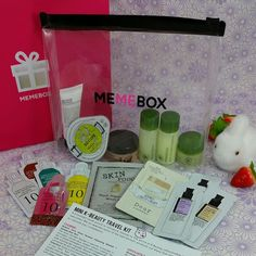Memebox Mini Travel Kit Giveaway!