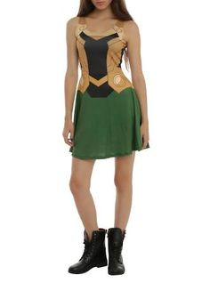 lady loki dress basic
