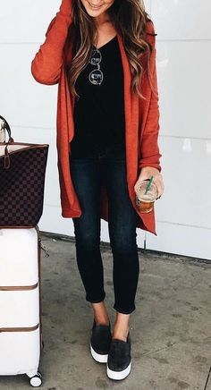 50 autumn outfit ideas to get inspiration - . - 50 autumn outfit ideas for inspiration – - Casual Fall Outfits, Fall Winter Outfits, Autumn Winter Fashion, Spring Outfits, Winter Style, Casual Winter, Winter Clothes, Women's Casual, Casual Clothes For Women