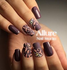 By Allure Nail Studio Matte Nails, Pink Nails, Gel Nails, Acrylic Nails, Gel Manicures, Beautiful Nail Art, Gorgeous Nails, Pretty Nails, Amazing Nails