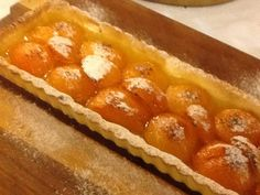 Torta de damasco fresco :: Pimenta na cozinha