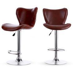 2 Set Tabouret Bar Siège Cuisine Sofa Lounge Chaise chaise de bar rouge K1Y6