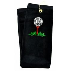Got Golf Gifts - Only golf here! Golf Towels, Golf Gifts, Black Crystals, Tees, T Shirts, Tee Shirts, Tea