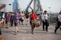 Filming in Shanghai for 'Her,' Joaquin Phoenix, Spike Jonze