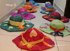 Having a mexican theme party at your house and need props ???? Easy !!  Follow this simple step by step tutorial by @Poonam DaCosta of The Cook Book on how to make a Mexican Sombrero/Hat.   Great activity for the kids as well.