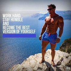 """Work Hard, Stay Humble and Become the Best Version of Yourself"" #Whattsupps #workouts #getripped"