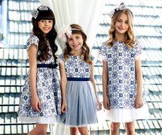 Sly Mädchen Kleid Festlich Hochzeit Einschulung Kommunion Blumenmädchen Weiß