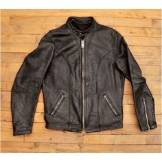 Thick Hide Multipanel Cafe Racer Motorcycle Jacket