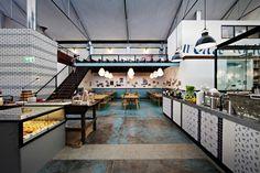 En Australie, un garage se transforme en restaurant italien