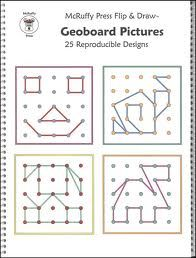 Ideas for geoboard cards