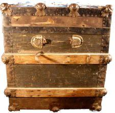 Antique Trunk restoration procedures and information