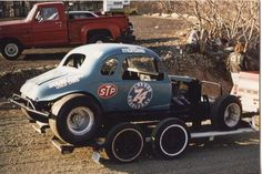 Circle Track Racing Vintage Oval Track Modifieds...