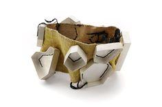 Anna Helena Van De Pol de Deus  Bracelet - Silver, Vintage Fabric, Silk Thread 2010