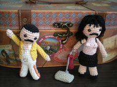 Freddie Mercury Wembley version and IWTBF video version.