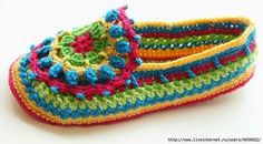 I love to crochet. I love to search out pictures of crochet as inspiration for future projects. I'm always looking for pictures of beautiful things done in crochet. I'm looking for inspiration, not. Crochet Boots, Crochet Clothes, Free Crochet, Knit Crochet, Crochet Daisy, Unique Crochet, Irish Crochet, Easy Crochet, Purple Crafts