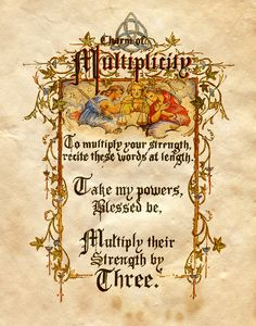 """Charm of multiplicity"" - Charmed - Book of Shadows"