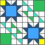Star Victory Quilt Pattern of the Month #quilting