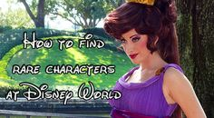 How to find rare characters at Walt Disney World