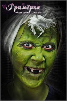 Аквагрим, грим, Ведьмочка, баба Яга, кикимора, хэллоуин face painting, make-up, Witch, Baba Yaga, fagot, halloween