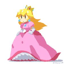 whoops gotta go - princess peach